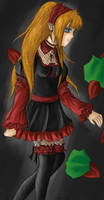 AN ANIME GIRL-GOTHIC by DontFeedTheAxel