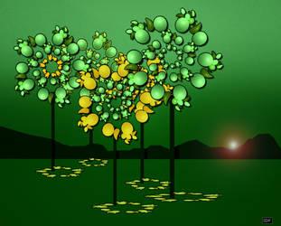 fantasie-tree-abstract by sonafoitova