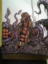 hellboy! by 1ithium
