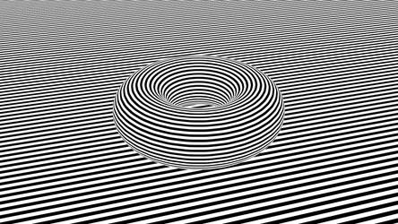 Zebra Donut by ToxicTuba