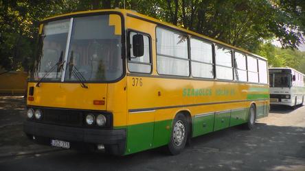 Buses of Nyiregyhaza - Ikarus 256 (JSZ-376) by metro911