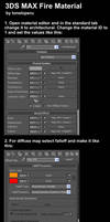 3ds max fire material tutorial by toneloperu