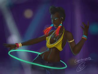 Caribbean Girl by Lavahanje