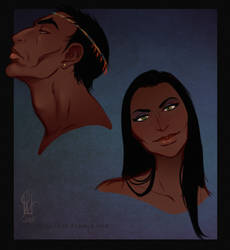 Ayenke and Liloe by Lavahanje