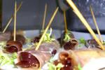 Parma ham canapes by richardnorth