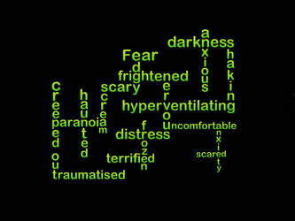 Typography of fear by richardnorth