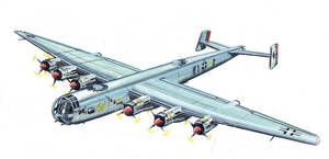 Focke-Wulf Ta 400 by tr4br