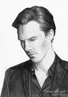 Benedict Cumberbatch by white-materia