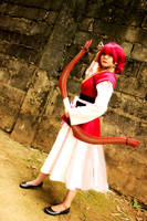 Battle Ready l Yona Cosplay from Akatsuki no Yona by expkeyblademaster