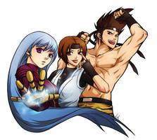 Virak's team on KOF XIII by virak