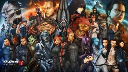 Mass Effect by virak