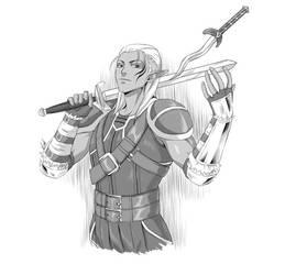 Dragon Age Zevran by virak