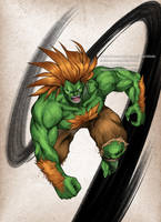 Street Fighter Blanka by virak