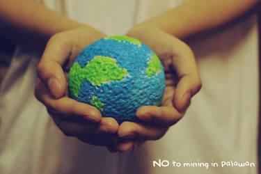No to Mining in Palawan by aurorapop