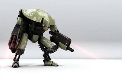 War Droid by bergstromo