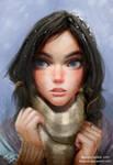 Snow girl by FiRez-DA