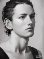 Male Portrait Study by FiRez-DA