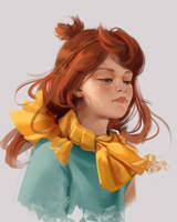 Ginger Girl by FiRez-DA