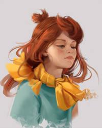 Ginger Girl by FiRez-DA