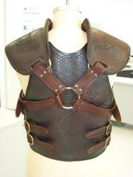 Battle-worn Tribal Armour 2 by PeacefulMynd