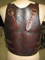 Battle-worn Tribal Armour 3 by PeacefulMynd