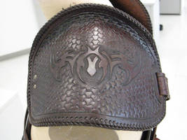 Battle-worn Tribal Armour 4 by PeacefulMynd