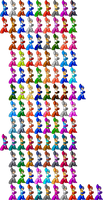 Smash 4 Mega Man Weapons by pharos04