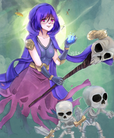 Clash Royale - Witch [sp] by MiI0