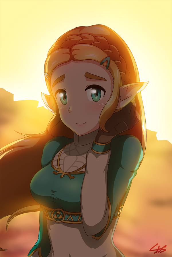 Breath of the Wild by Sonicbluespeed