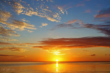 Summer sunrise I by CarlaSophia
