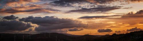 132 - Stormy sunset by CarlaSophia
