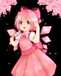 Sakura cirno by sailormagical