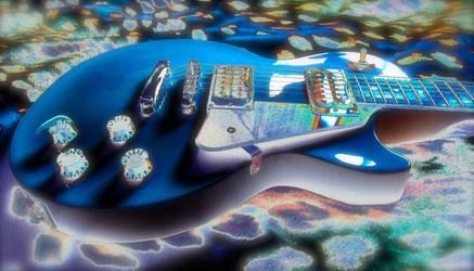 My Brilliant Blue by tonyair767