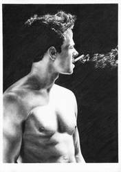 Mark Wahlberg by CKArtpage