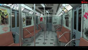 80s subway by Bolul