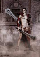 Vampire Warrior by rogue29730