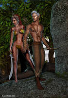 Tribal Elves II by rogue29730