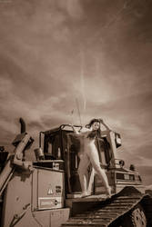 The dressy digger operator by gb62da