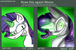 Draw this again - Rarity by Neoncel