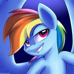 Icon #3 Rainbow Dash by Neoncel
