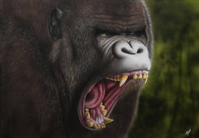 20150901 Gorilla by MixaArt