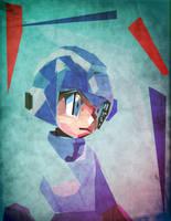 Megaman_abstracto by Tornaku