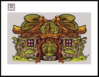 Casa de bruja by Tornaku