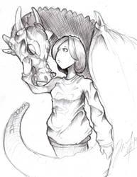 she dragon by SkyKidS