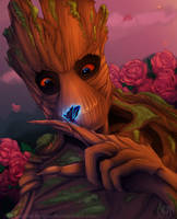 Groot by TheNornOnTheGo