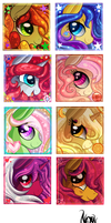 Icon Batch 8 by TheNornOnTheGo