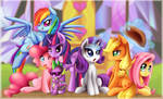 My Little Pony Wallpaper by TheNornOnTheGo