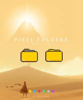 Pixel Folder Icons by MunaNazzal