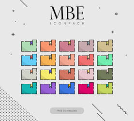 MBE Icon pack by MunaNazzal