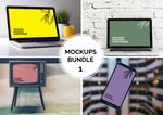 FREE Mockup Bundle 1 by MunaNazzal